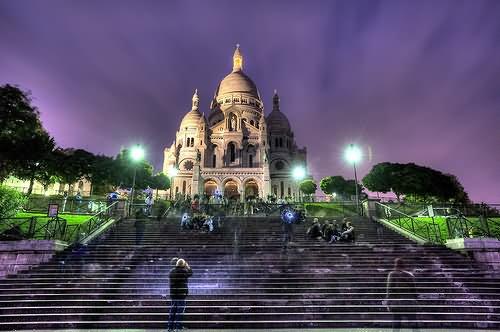 20 Most Beautiful Sacre Coeur Paris Night Pictures