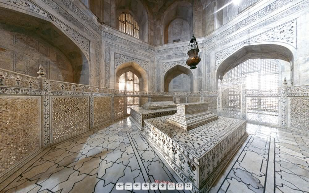 Adorable Taj Mahal Inside View Picture