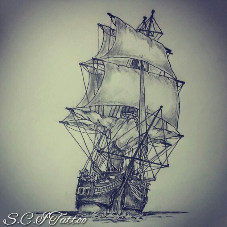 18 Sailor Ship Tattoo Designs