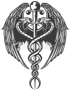 15 new medical symbol tattoo designs. Black Bedroom Furniture Sets. Home Design Ideas