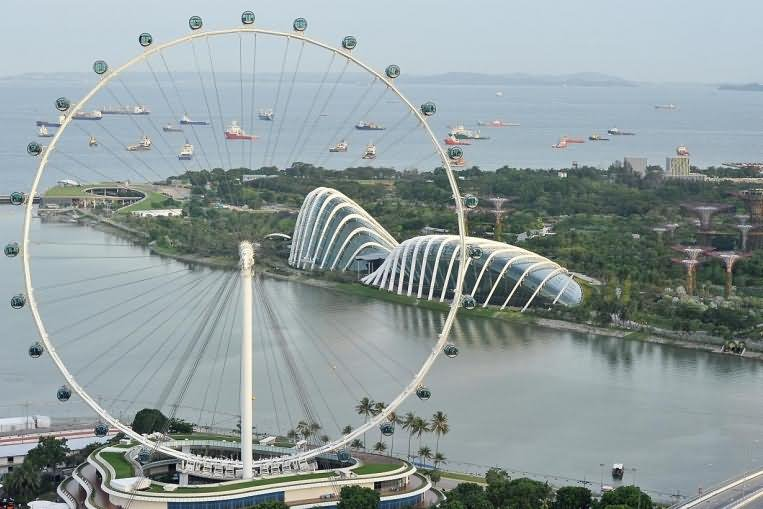 Amazing Singapore Flyer View