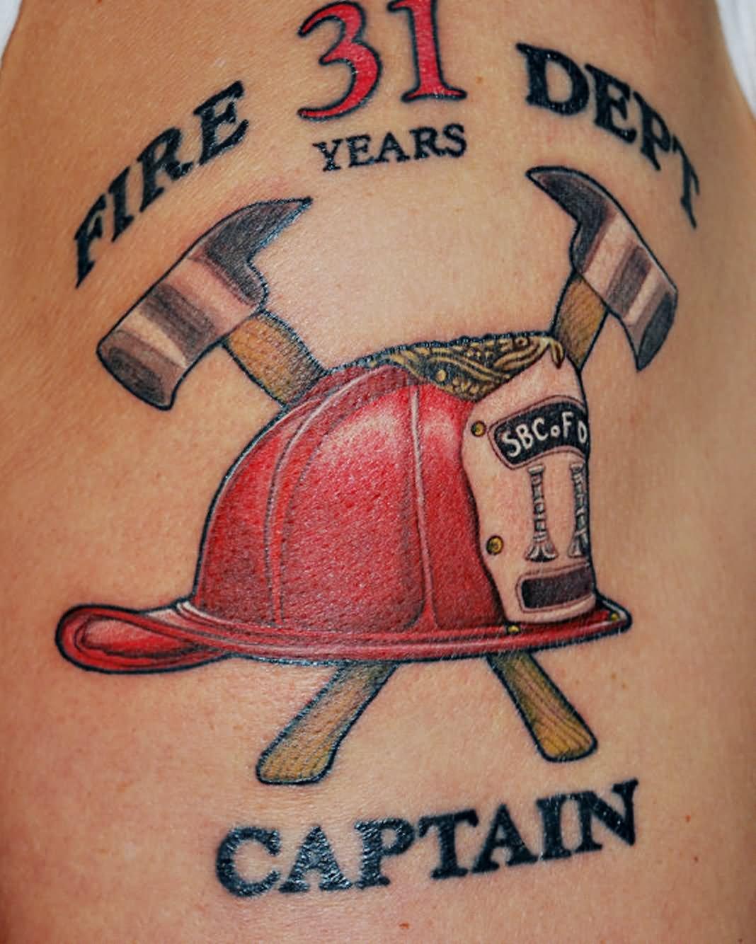 8 firefighter tattoos on half sleeve. Black Bedroom Furniture Sets. Home Design Ideas