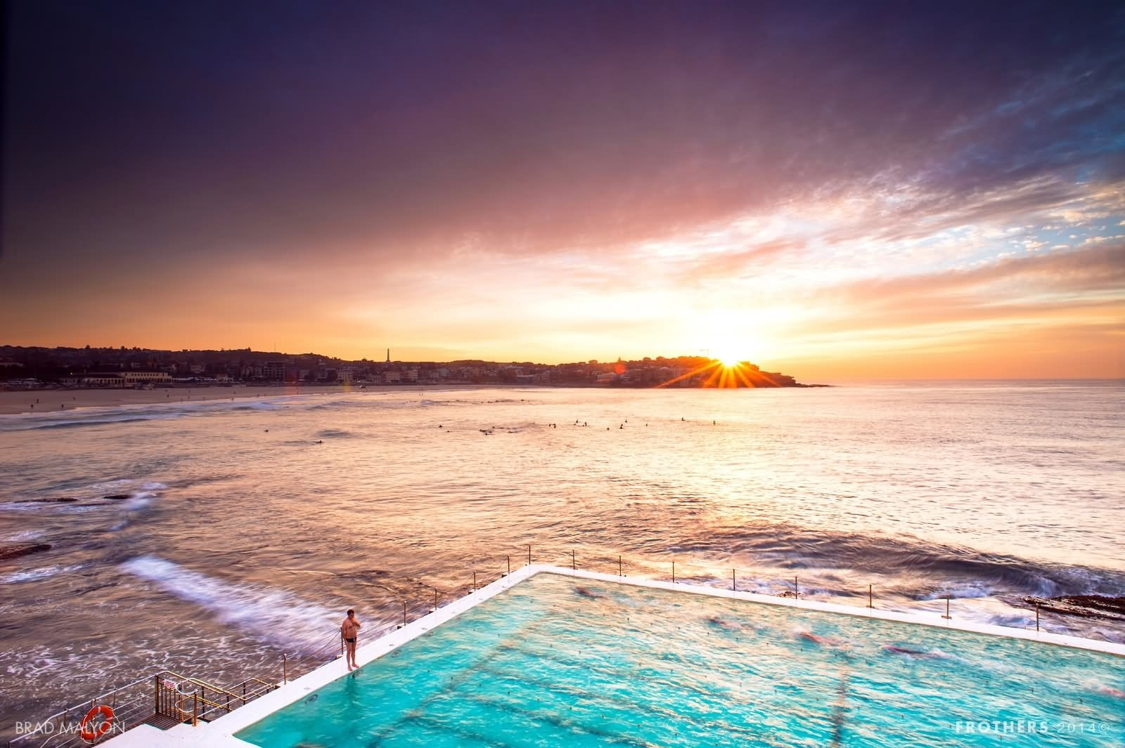 30+ most beautiful bondi beach sunset pictures