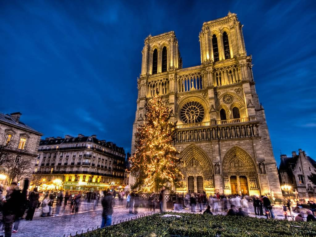 25 most awesome night view pictures of notre dame de paris beautiful night view of notre dame de paris