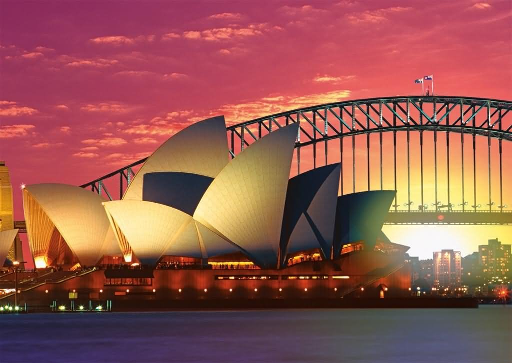 Beautiful Sydney Opera House Picture - View Photos Sydney Opera House Harbour Bridge  Images