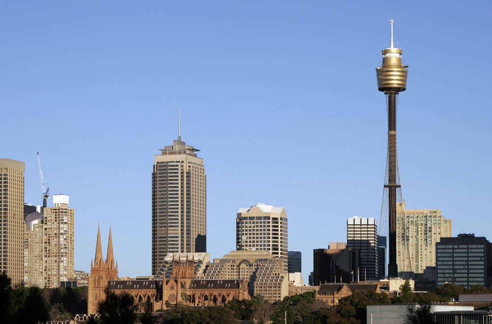 Amazing Picture Of Sydney Tower