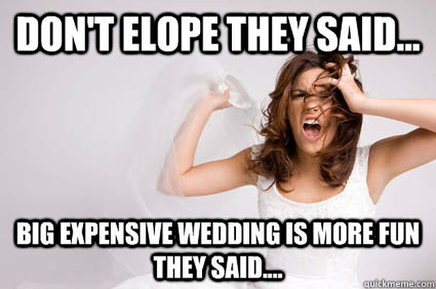 Don T Stress Funny Meme : Don t stress the wedding planning it will all works out