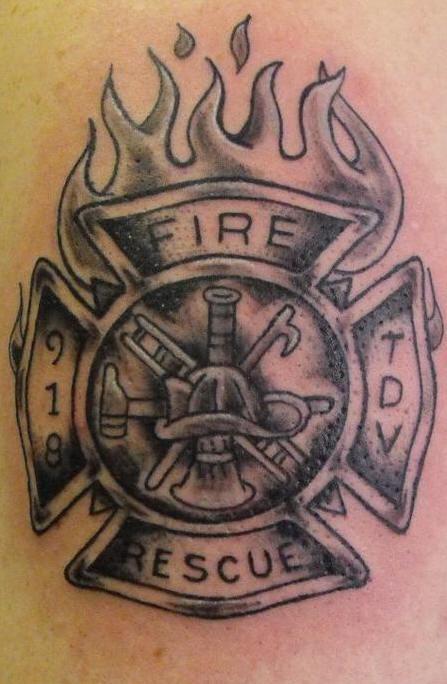 35 firefighter helmet tattoos. Black Bedroom Furniture Sets. Home Design Ideas