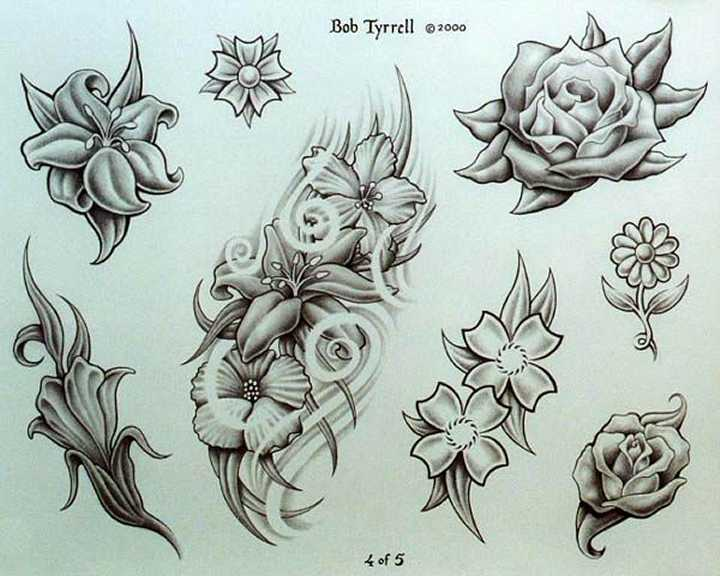 20 Latest Floral Tattoo Designs