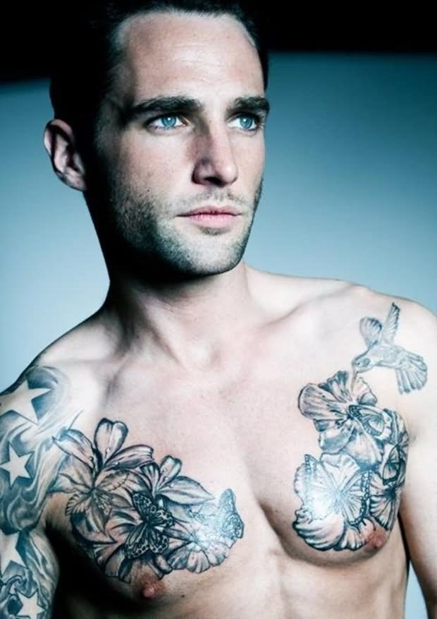 22+ Floral Tattoos For Men