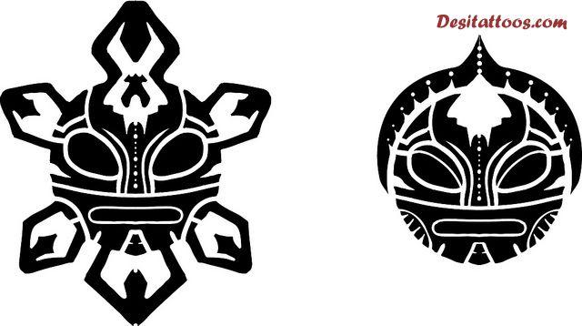 13 Taino Sun Tattoo Designs