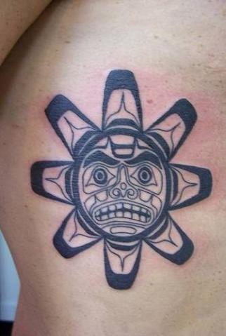 30 Amazing Taino Sun Tattoos