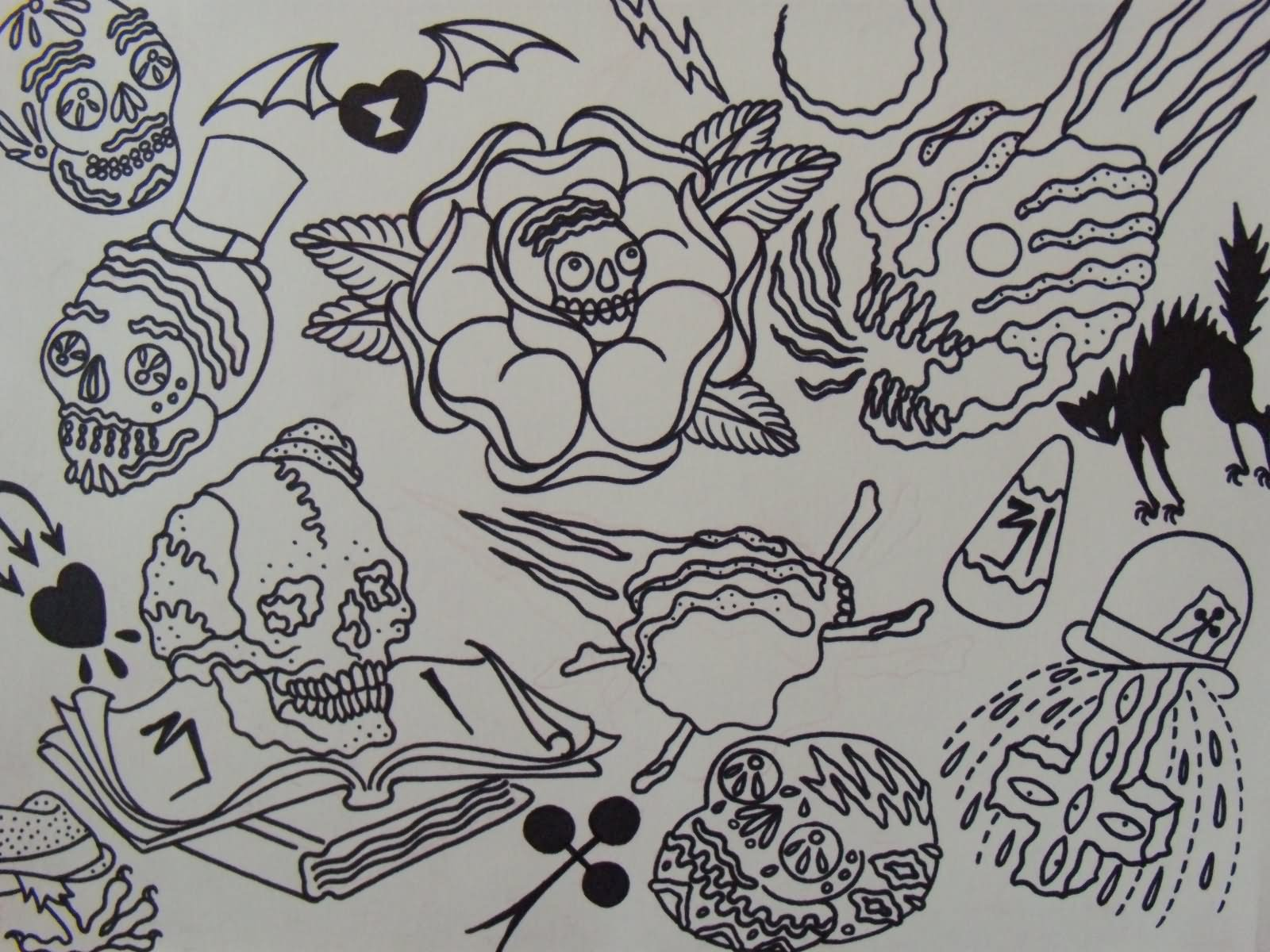 traditional tattoo flash outline designs ekenasfiber rh ekenasfiber johnhenriksson se