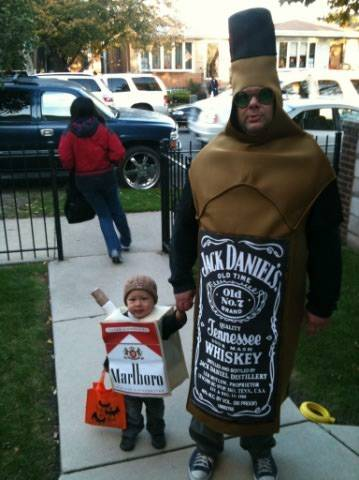 sc 1 st  Askideas.com & Booze And Smoke Funny Halloween Costume Photo
