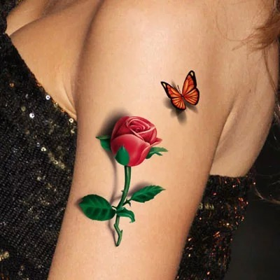 27 fantasy flower tattoos for Cliffs tattoo long island
