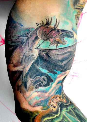 40 Fantasy Dragon Tattoos Designs Images And Ideas