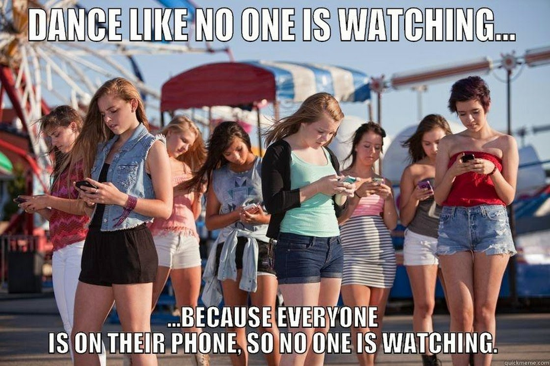 Funny Meme Dance : Dance like no one is watching funny meme image
