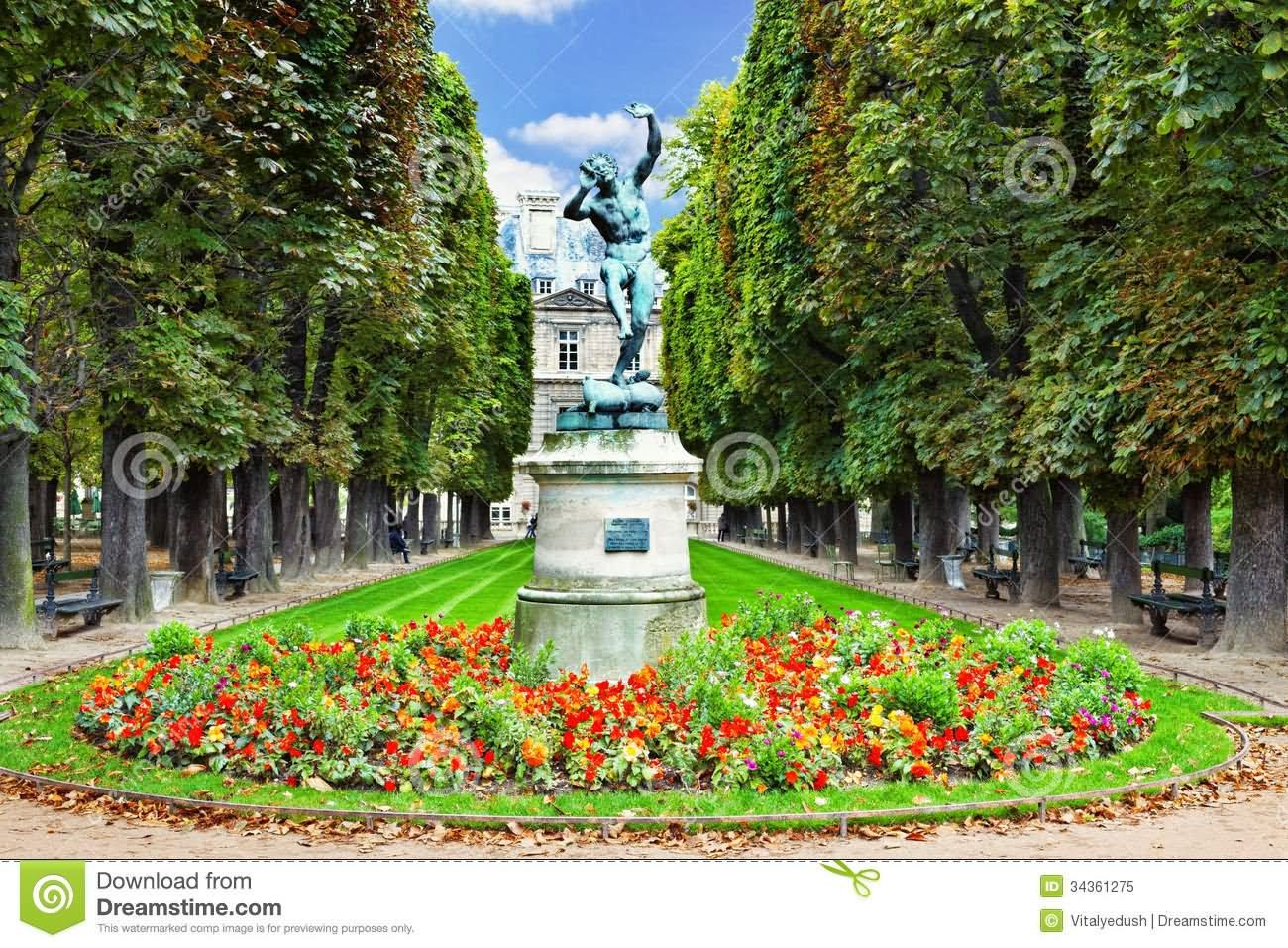 Jardin du luxembourg for Jardin en france