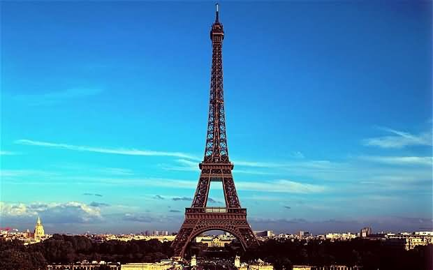 Eiffel Tower Evening View Picture