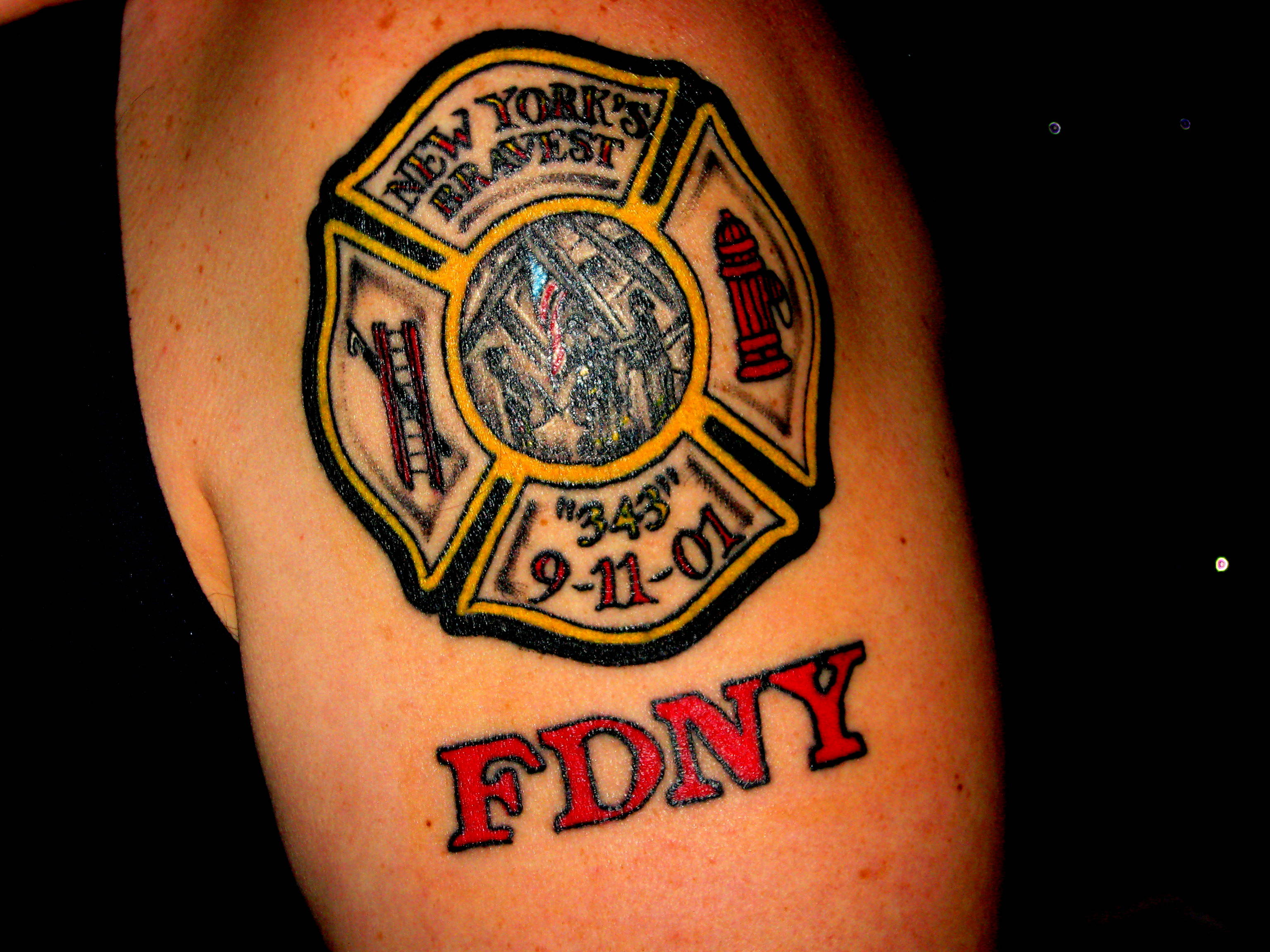 29 firefighter tattoos on shoulder. Black Bedroom Furniture Sets. Home Design Ideas