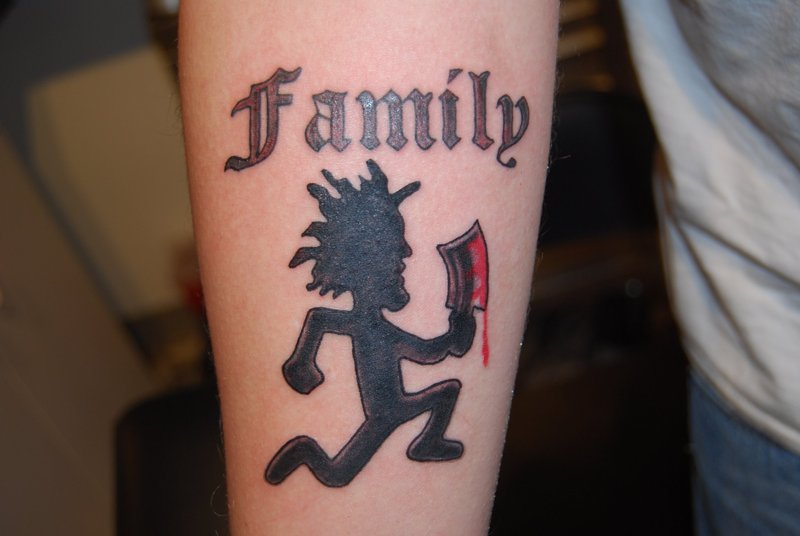 Family Juggalo Tattoo By Hotwheeler
