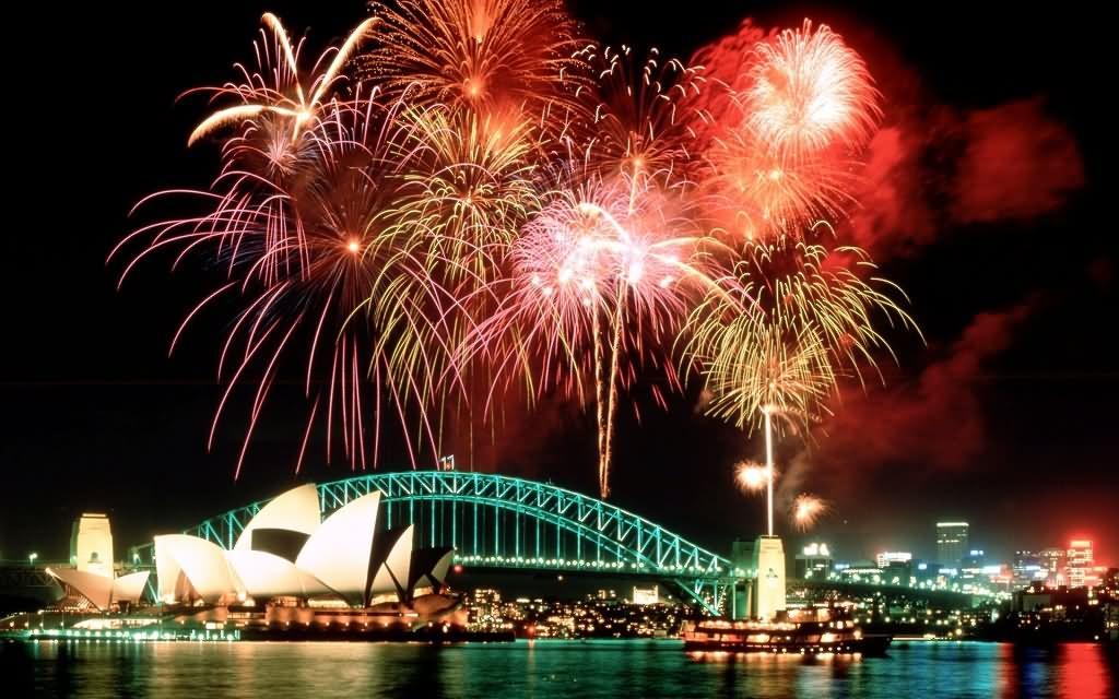 25 Very Beautiful Sydney Harbour Bridge Firework Pictures ...