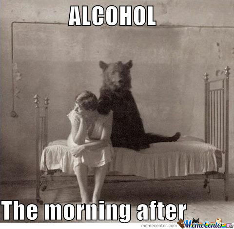 Funny Meme Alcohol The Morning After Image 30 very funny alcohol meme pictures and photos