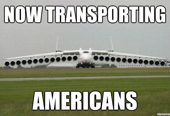 Funny Plane Meme Transporting Americans Image 35 funniest plane meme pictures and photos