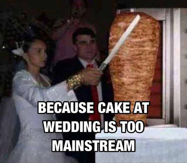 Funny Wedding Cake Meme Picture For Whatsapp