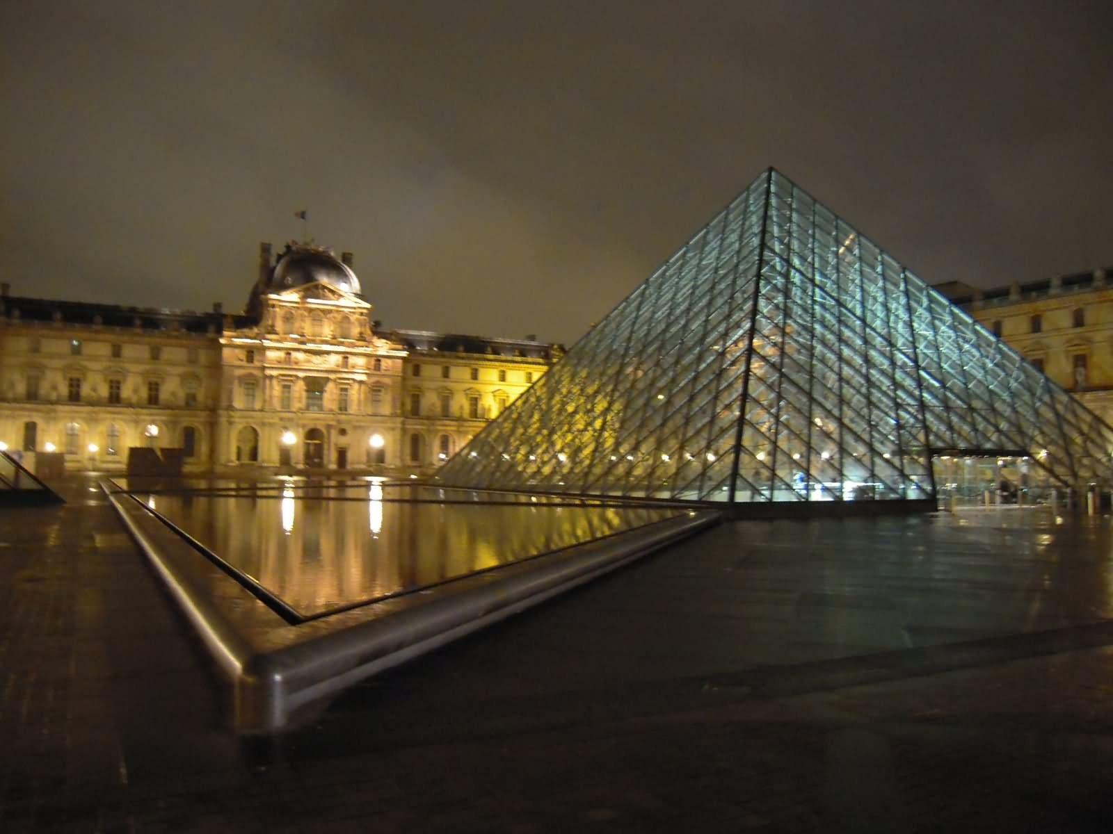 Glass Pyramid At The Louvre Museum Picture