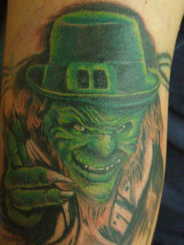 30+ Best Leprechaun Tattoos