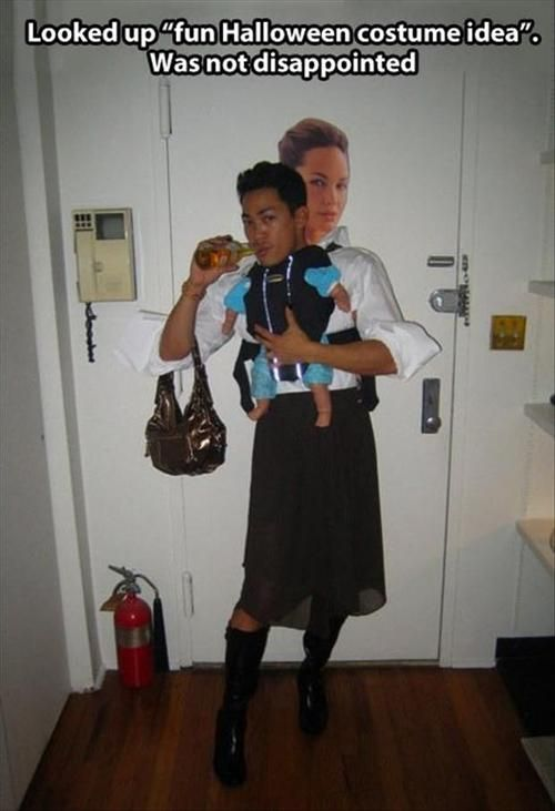 halloween costume idea was not disappointed funny image - World Best Halloween Costumes