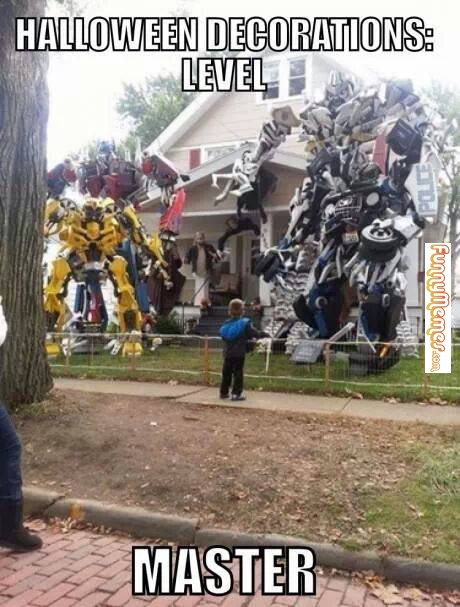 halloween decoration level funny meme image - Funny Halloween Decorations