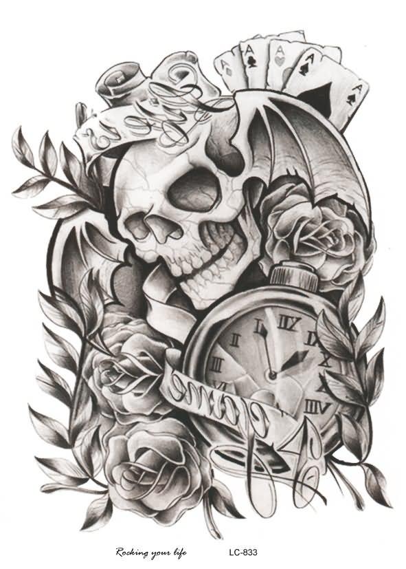 29 best halloween tattoo designs and ideas