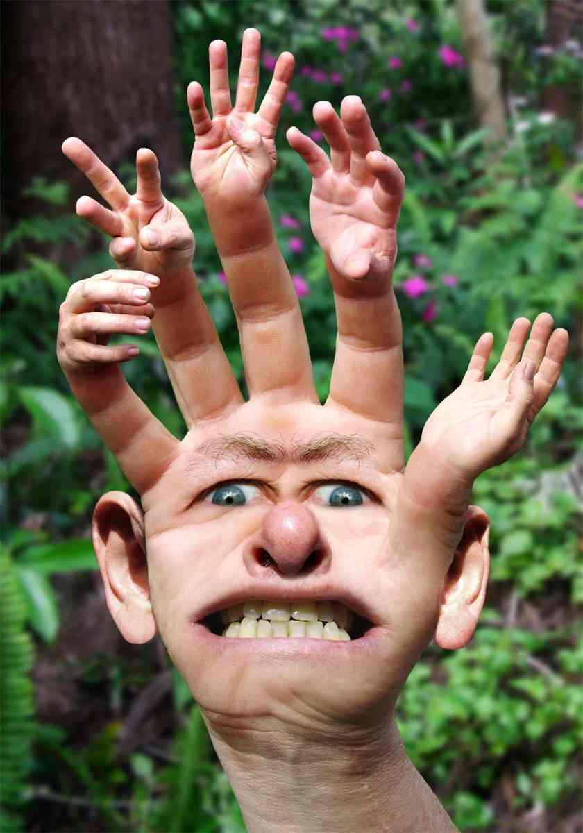 Руки картинки смешные