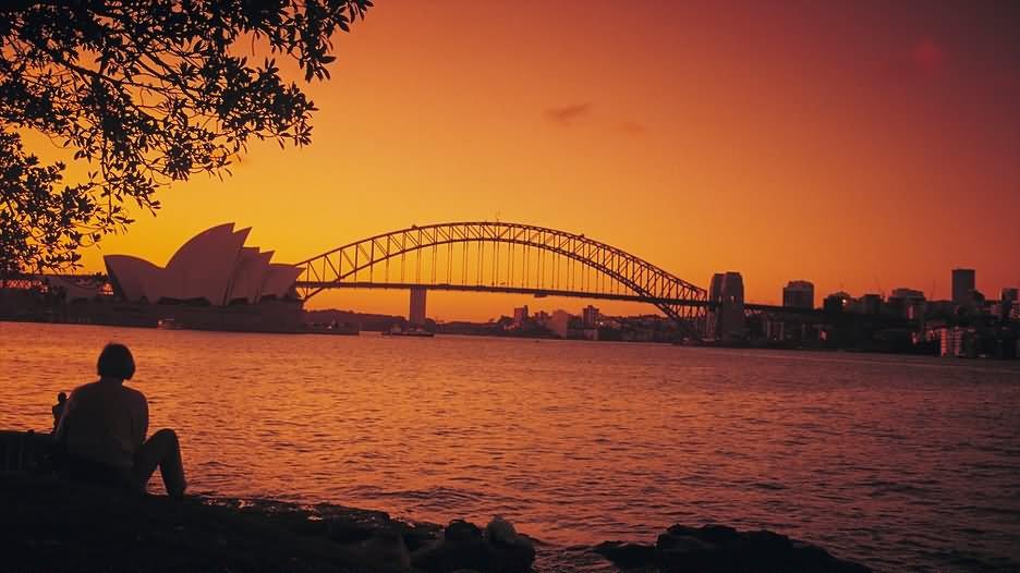 incredible sun set view - photo #9