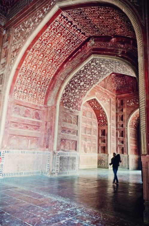 Inside Picture Of Taj Mahal