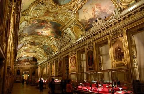Inside The Louvre Museum Paris