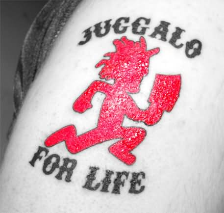 596e976bb Juggalo For Life Hatchet Man Tattoo