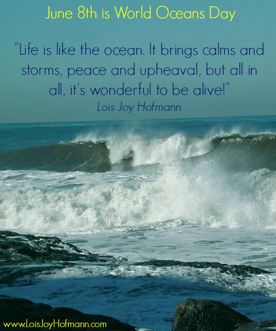 Life Is Like The Ocean Quotes: 45 Best World Ocean Day Wish Pictures And Images
