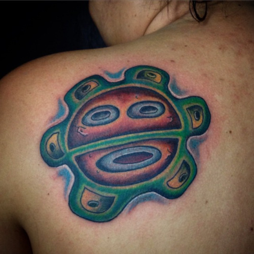 30 Amazing Taino Sun Tattoos