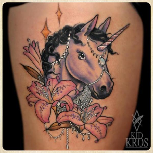 27+ Fantasy Flower Tattoos