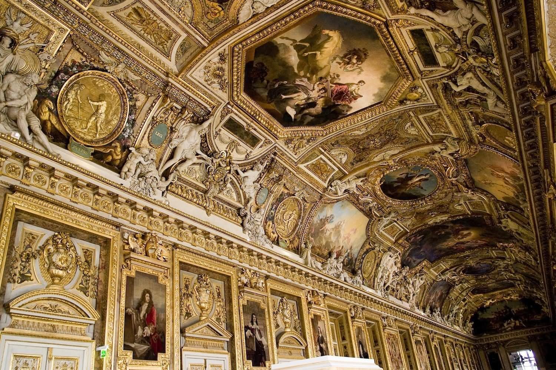 Louvre Museum Interior