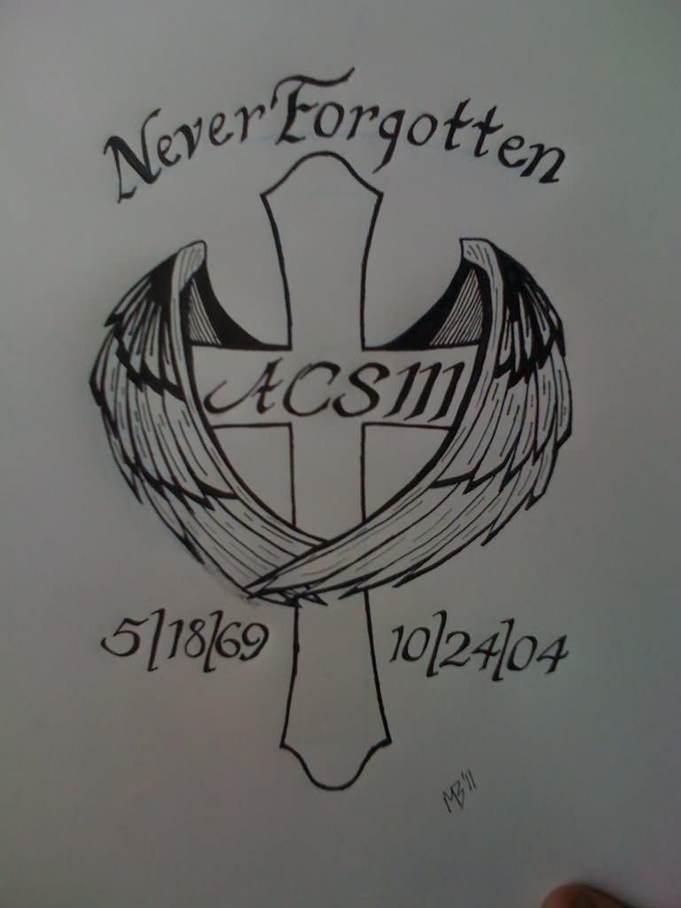 5+ Memorial Tattoo Designs