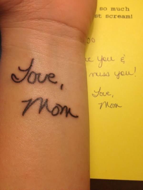 22 amazing memorial mom tattoos. Black Bedroom Furniture Sets. Home Design Ideas