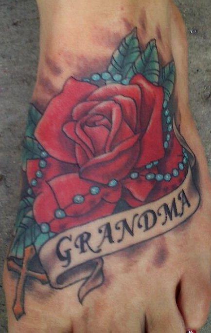 25 memorial grandma tattoos