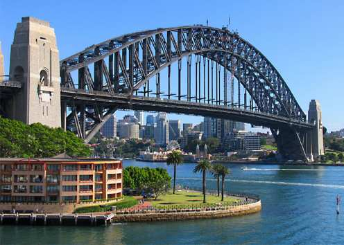 Image result for harbour bridge sydney