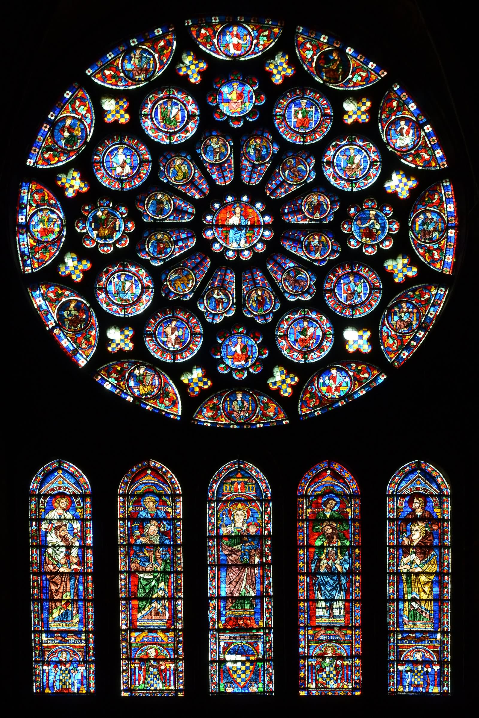 South Rose Window Notre Dame De Paris