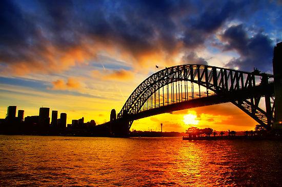 incredible sun set view - photo #33