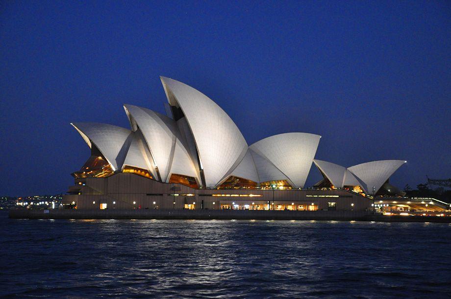 30+ Most Stunning Sydney Opera House Night Images